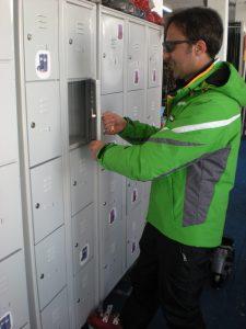 Free Locker at Piani di Bobbio